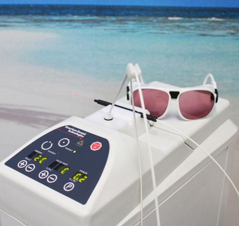 Laser trattamento denti