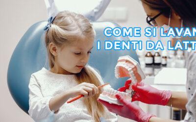 Cura dei denti da latte: come lavare i denti ai bambini?