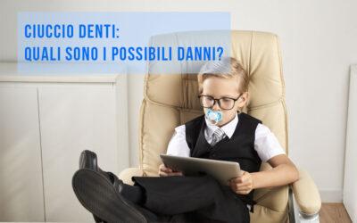 Ciuccio denti: quali danni possibili?