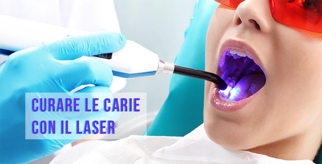 Curare la carie con il laser: addio, trapano!